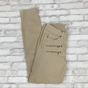 Paige Edgemont Skinny Desert Khaki Jeans Sz 27